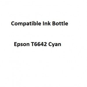 Real Color EPCOMPT6642  Compatible Epson T6642 Cyan 70ml Ink Bottle