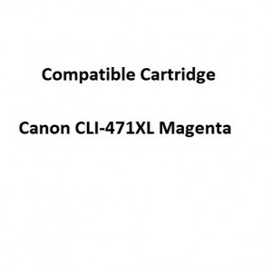 Real Color 32107083  Compatible Canon CLI-471XL Magenta Ink Cartridge