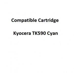 Real Color COMPTK590C Compatible Kyocera TK590 Cyan Toner Cartridge