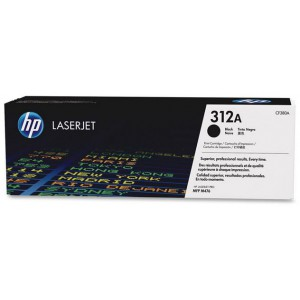 HP 312A Black LaserJet Toner Cartridge - 2400 pages
