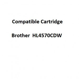 Real Color COMPTN348Y Compatible Brother  HL4570CDW High Yield Yellow Toner Cartridge