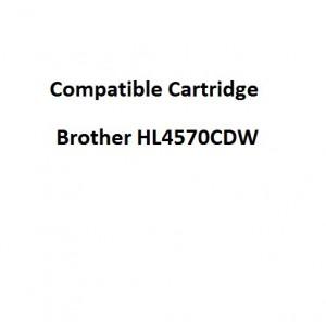 Real Color COMPTN348BK Compatible Brother HL4570CDW High Yield Black Toner Cartridge