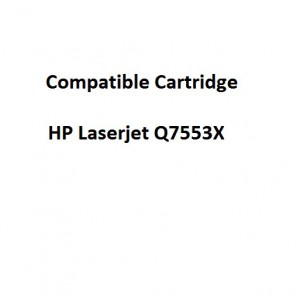 Real Color COMPQ7553X Compatible HP Laserjet Q7553X Toner Cartridge