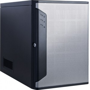 Chenbro Mini-ITX Server - 4x Hot-Swap Disk Bays, 250W Fixed PSU