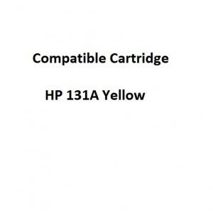 Real Color COMPCF212A Compatible HP 131A Yellow Laserjet Toner Cartridge