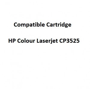 Real Color COMPCE250A Compatible HP Colour Laserjet CP3525 Black Toner Cartridge