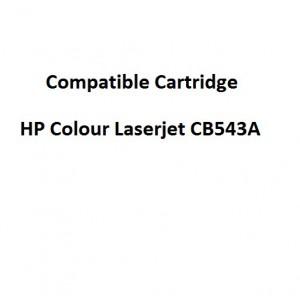 Real Color COMPCB543A Compatible HP Colour Laserjet CB543A Magenta Toner Cartridge