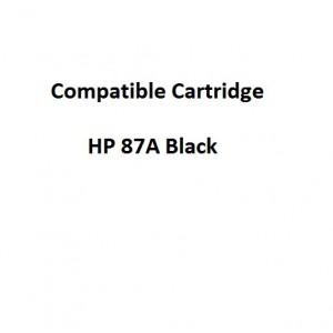 Real Color COMPCF287A Compatible HP 87A Black Toner Cartridge for  Laserjet Pro M506/M527