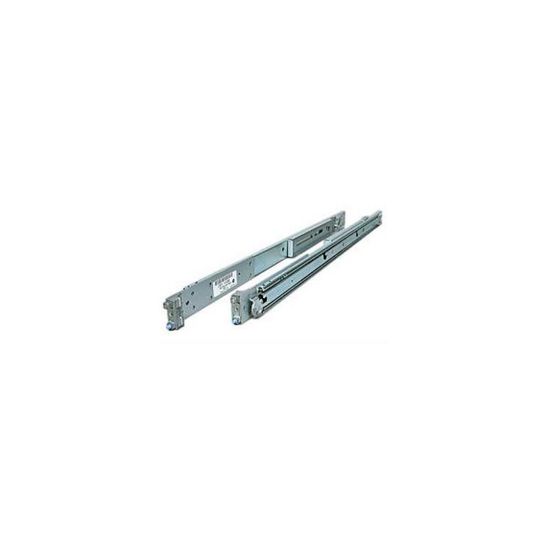 1U/2U Premium Rail Kit - Full extension and toolless rail kit