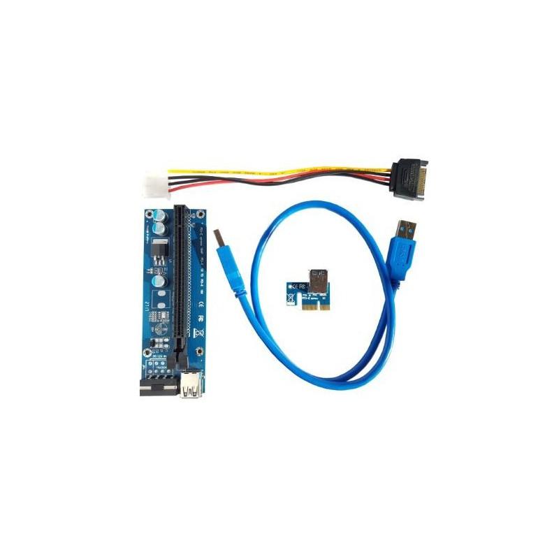 Unbranded PCIE-1  PCI-e Riser Cable Vertical Mount