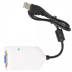 Unbranded SUR011  USB 2.0 to VGA Converter