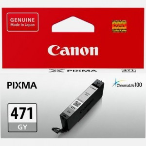 Canon 0404C001AA  CLI-471 Grey Ink Cartridge for MG5740 MG7740  780 Pages Yield
