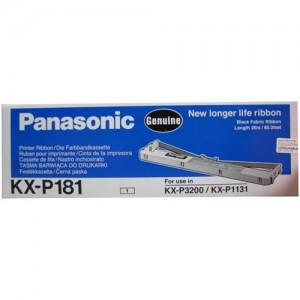 Panasonic KXP181 Printer Ribbon, Black
