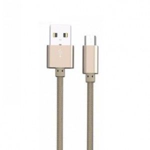 LDNIO Micro USB Fast Charging & Data Cable 32m - Gold