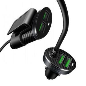 LDNIO DL-C502 4-port USB Car Charger