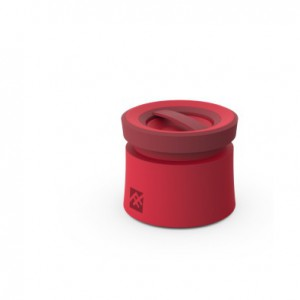 IFrogz IFOPBS-RD0  Coda Wireless Bluetooth Speaker with Microphone - Red