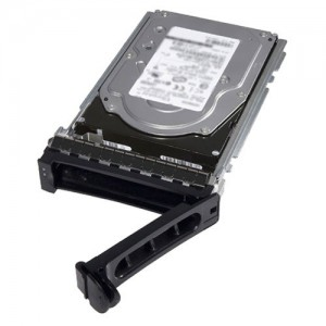 Dell 400-AUUO 15,000 RPM SAS Hard Drive 12Gbps 512n 2.5in Hot-plug Hard Drive , 3.5in Hybrid Carrier, CK - 300 GB