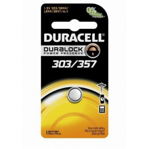 Duracell D013919 Silver 303 1s (10 Pack) Battery