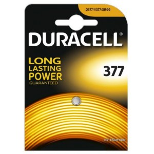 Duracell D063006 Silver 377 1s 10 Pack Battery
