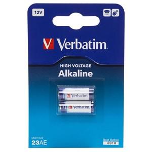 Verbatim 49939  Car Security System Battery - A23 - Alkaline x 2