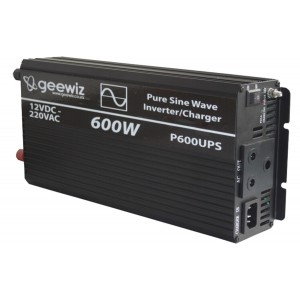 600W PURE Sine Wave Inverter + Battery Charger + ATS (UPS)