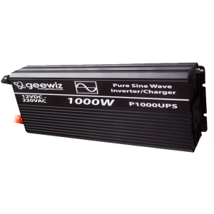 1000W PURE Sine Wave Inverter + Battery Charger + ATS (UPS)