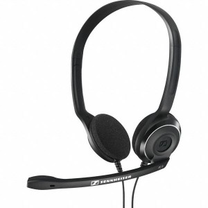 Sennheiser PC 8 USB Wired Headset with Mic  (Black, On the Ear)