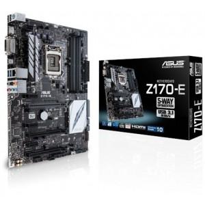 Asus 90MB0P60-M0EAY0 LGA 1151 Intel Z170 HDMI SATA 6Gb/s USB 3.1 USB 3.0 ATX Intel Motherboard