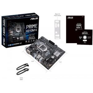 Asus 90MB0X80-M0EAY0 Prime H310M-K LGA 1151 Micro-ATX Motherboard