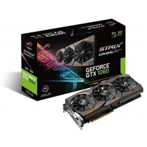 Asus 90YV09Q1-M0NA00 StriX Gaming GeForce GTX 1060 6GB GDDR5 Graphics Card