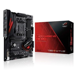 Asus 90MB0XJ0-M0EAY0 ROG Crosshair VII Hero AMD X470 Socket AM4 ATX Motherboard