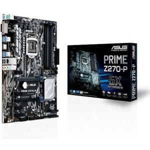 Asus 90MB0SY0-M0EAY0 Prime Z270-P LGA 1151 Socket ATX Motherboard
