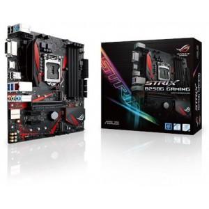 Asus 90MB0TU0-M0EAY0 ROG STRIX B250G GAMING LGA1151 DDR4 HDMI DVI M.2 Micro-ATX Motherboard with USB 3.1