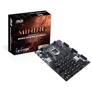 Asus 90MB0VY0-M0EAY0  B250 Mining Expert LGA 1151 ATX Mining Motherboard 19 Slot PCIe