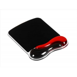 Kensington 62402 Optimise IT - Duo Gel Mouse Pad - Black/Red
