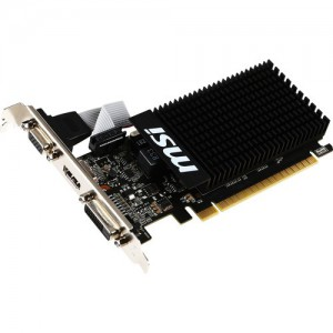 MSI MS-GT 710 1GD3H LP GeForce GT 710 Low Profile Graphics Card