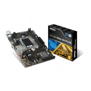 MSI MS-H110M PRO-VH PLUS Socket LGA 1151 Motherboard