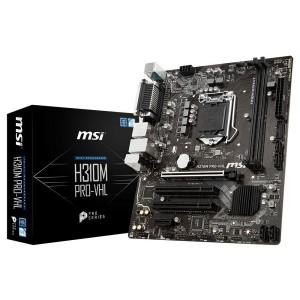 MSI MS-H310M PRO-VHL Intel H310 LGA1151 mATX Desktop Motherboard