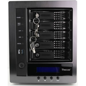 Thecus N7710 Dual Core 2.9GHz CPU, 4GB DDR3, Upgradable to 10GbE, RAID 0 to 50