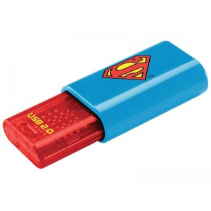 Emtec ECMMD8GC600SM Superman 8GB Flash Memory Stick USB 2.0