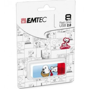 Emtec ECMMD8GM700PN01-SN M700 Snoopy 2D 8GB USB 2.0 Flash Drive