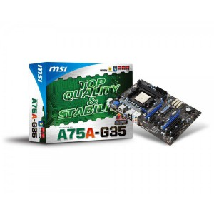 MSI MS-A75A-G35 FM1 ATX Motherboard