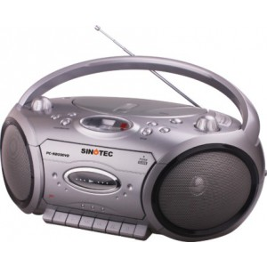 Sinotec PC-9203DVD Portable DVD/Cassette Player With Radio
