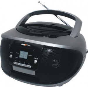 Sinotec PC-9261 Portable CD Player With Radio