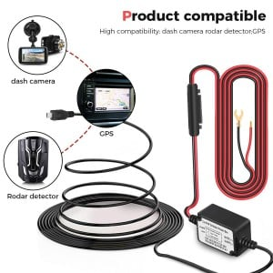 Dashboard Camera Hardwire Kit