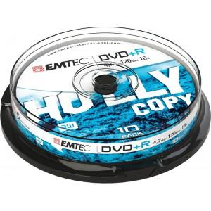 Emtec ECOVPR471016CB DVD+R 4.7GB 16x Cake Box (10 Pack)