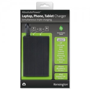 Kensington K38080EU AbsolutePower Laptop, Phone, Tablet Charger