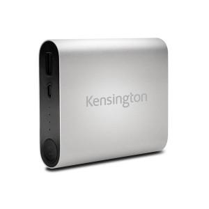 Kensington K38219WW  Mobile Battery Charger - 10400mAH - Silver