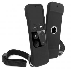 Tuff-Luv I4_66  Silicone Remote Case for Apple TV 4th Generation - Black