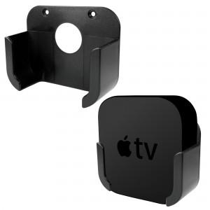 Tuff-Luv J8_27  Wall Mounted TV Bracket / Holder for Apple TV (4th Gen) - Black